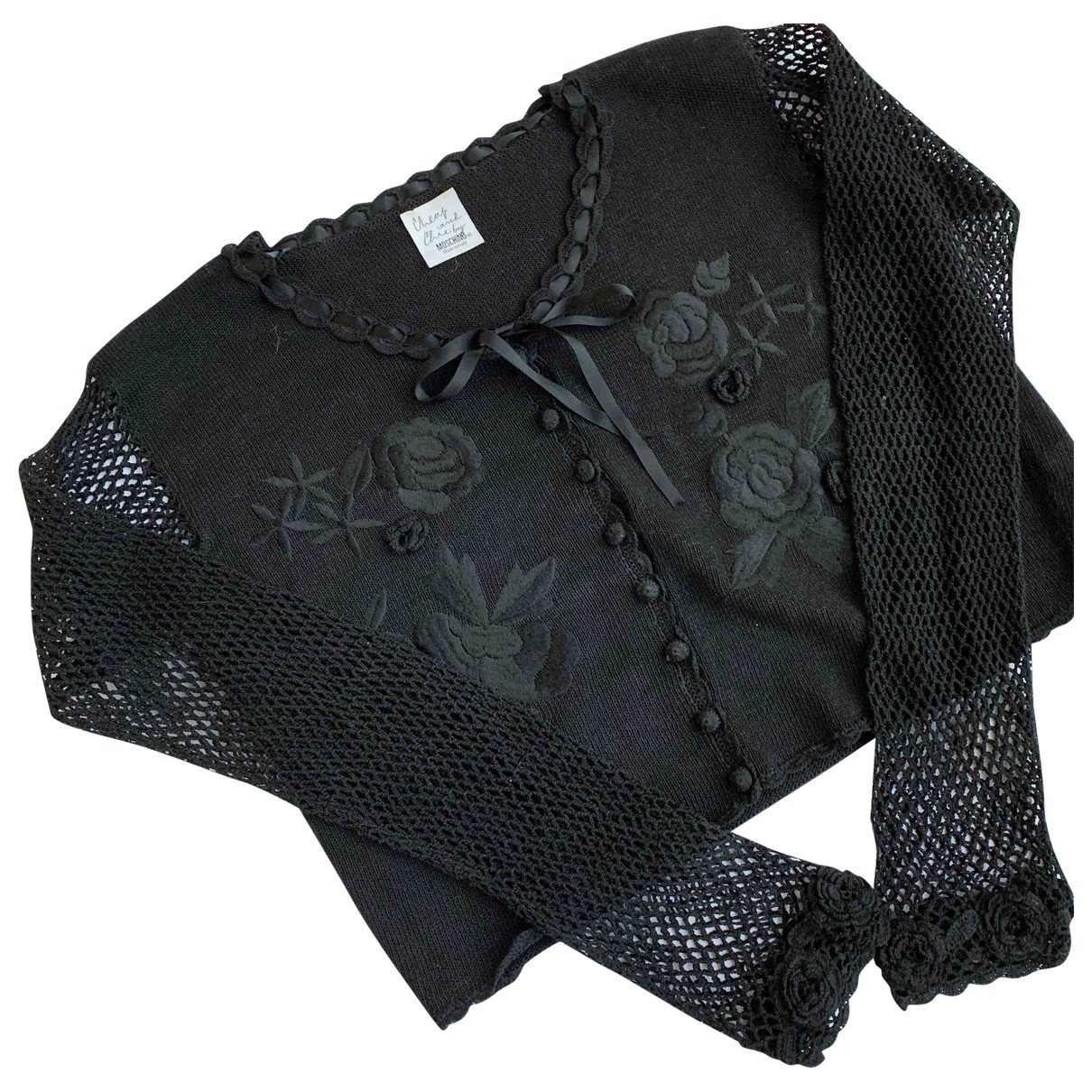 Moschino Cheap And Chic \N Black Cotton Knitwear for Women 46 IT