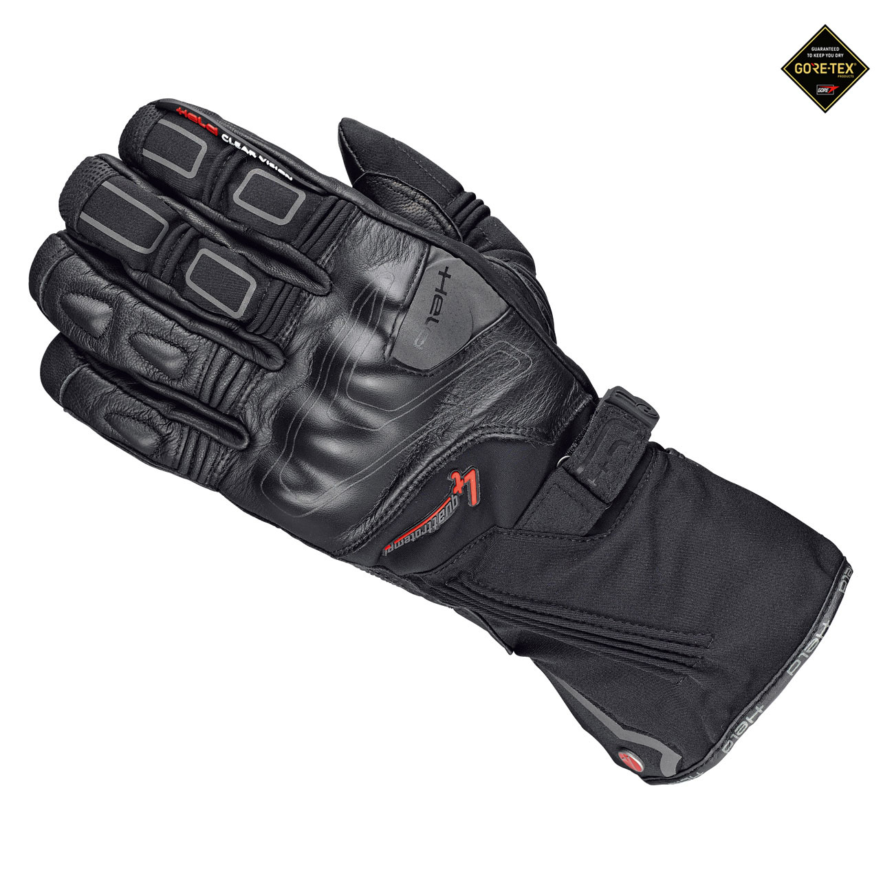 Held Cold Champ Gore-Tex + Gore Grip Technology Guantes De Moto Negro 7