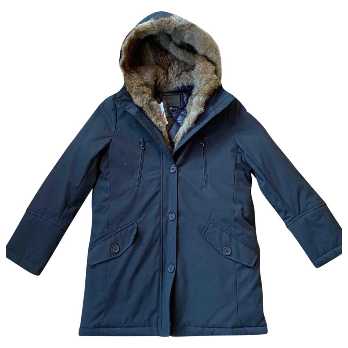 Bonpoint \N Navy Fur coat for Women XS International