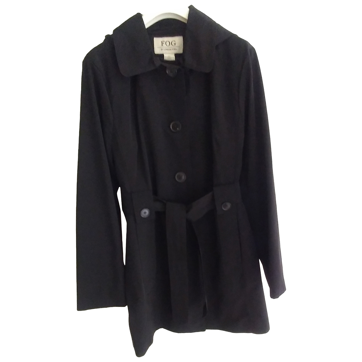 Non Signé / Unsigned \N Black Trench coat for Women S International