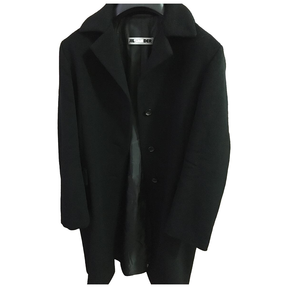Jil Sander \N Black Cashmere coat for Women 40 IT