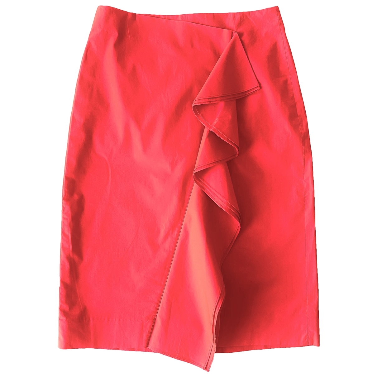 J.crew \N Red Cotton skirt for Women 2 US