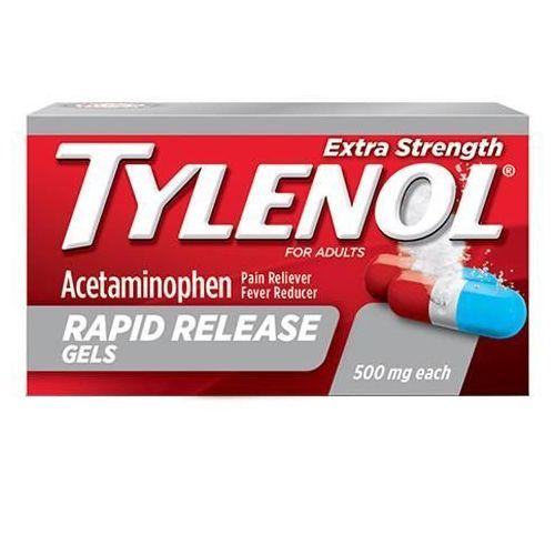 Tylenol Extra Strength Rapid Release Gelcaps 24 Caps by Tylenol