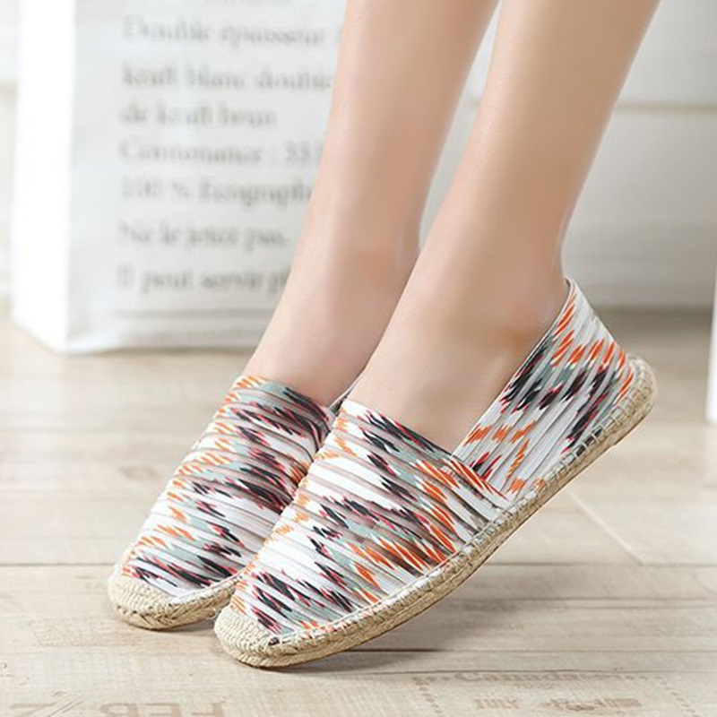 Ericdress Round Toe Flat With Slip-On Low-Cut Upper Thin Shoes