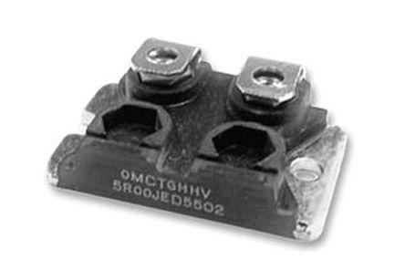 Ohmite TGH Series Aluminium Housed Screw Termination Thick Film Panel Mount Resistor, 100mΩ ±5% 200W