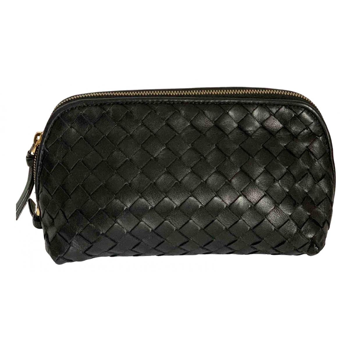 Bottega Veneta \N Black Leather Travel bag for Women \N
