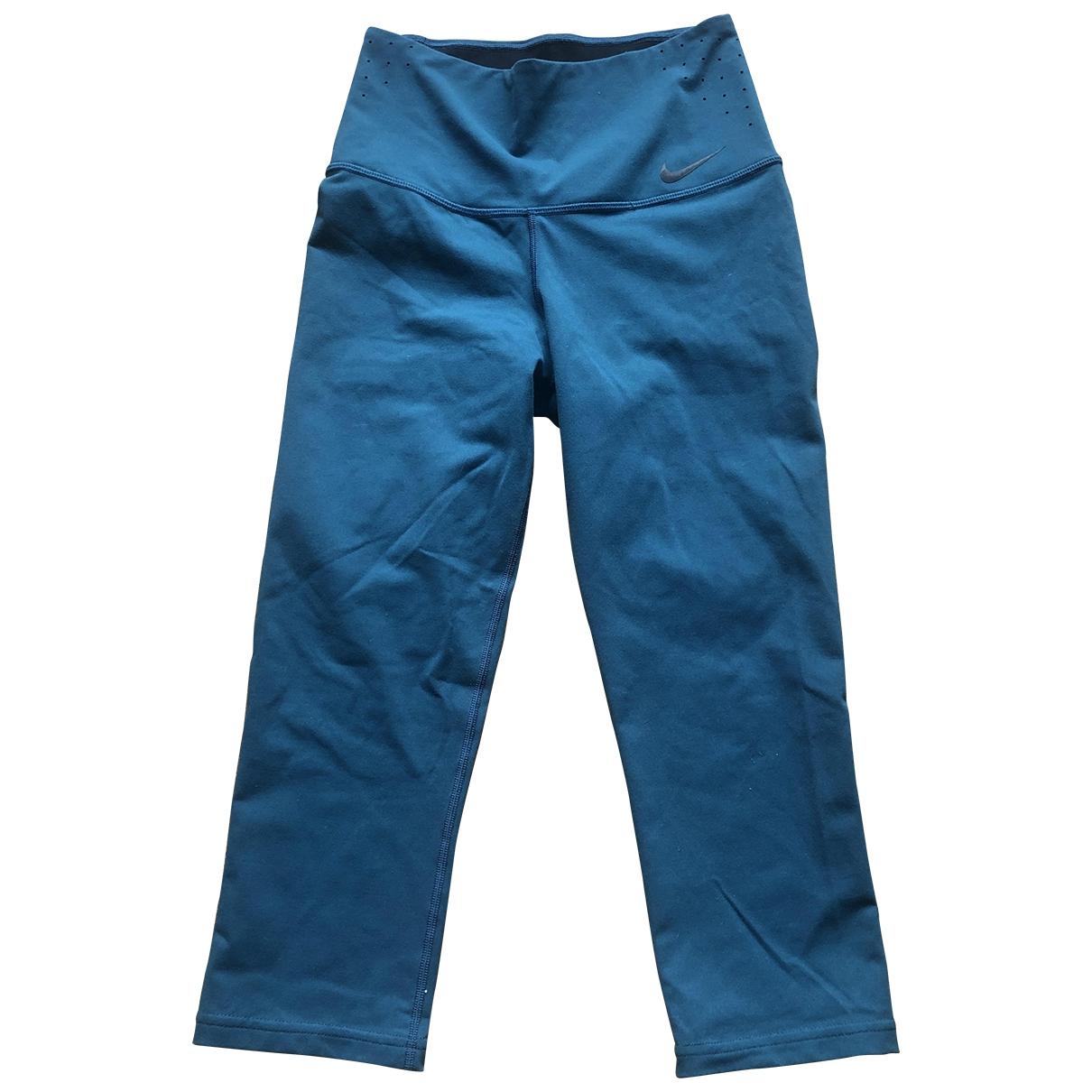 Nike \N Blue Trousers for Women M International