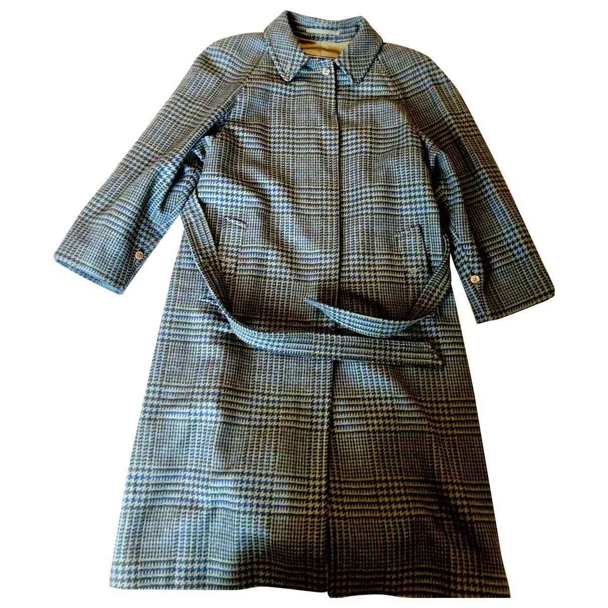 Burberry \N Green Wool coat for Women 44 IT