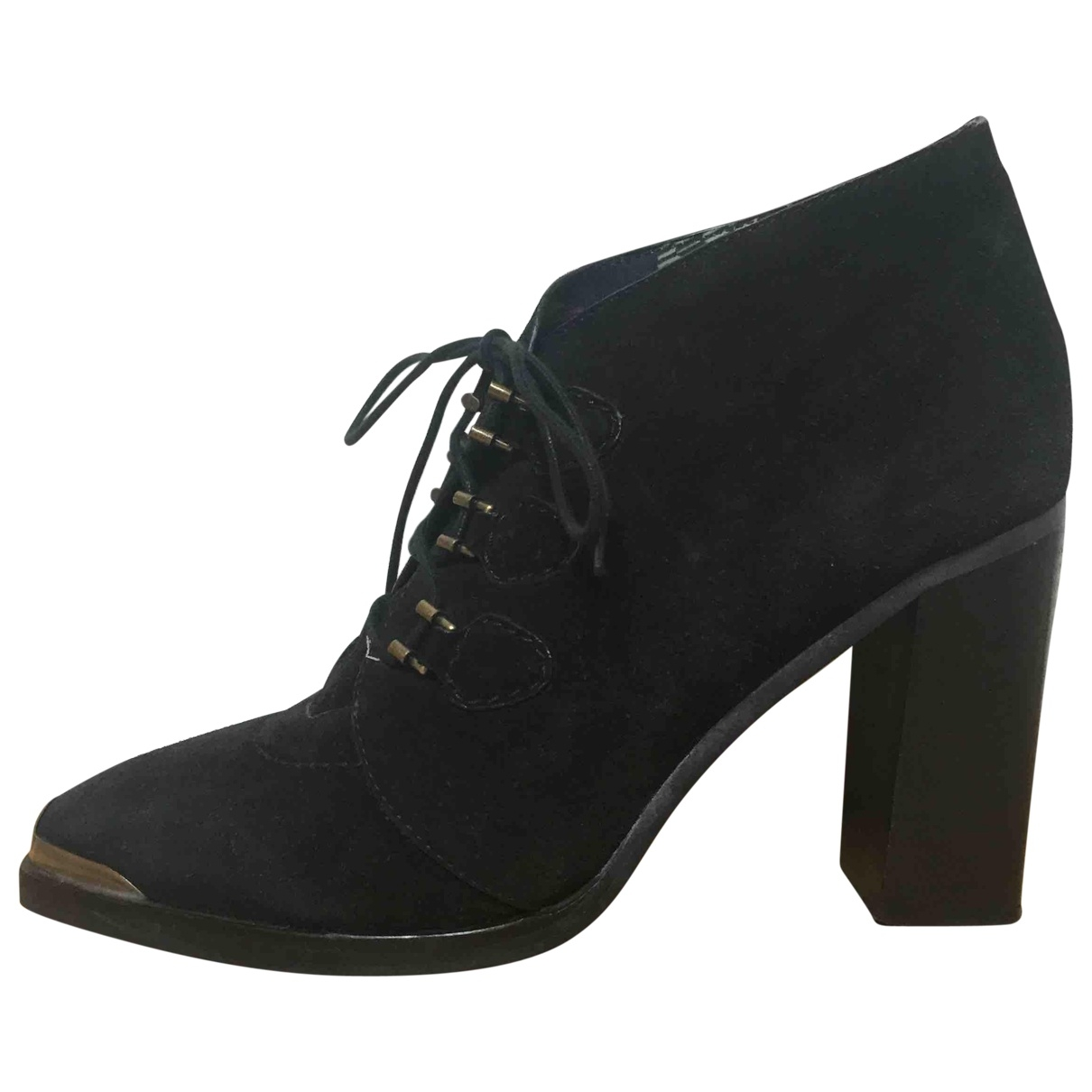 Kenzo \N Black Suede Ankle boots for Women 40 EU