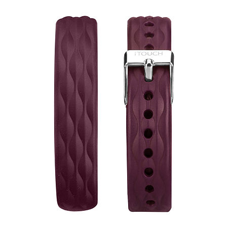 Itouch Slim Womens Watch Band-Itaslimstrap-Merlot, One Size , No Color Family