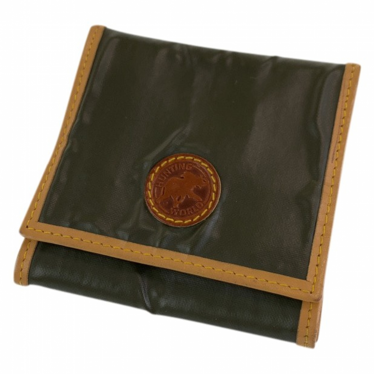 Non Signé / Unsigned \N Green Small bag, wallet & cases for Men \N