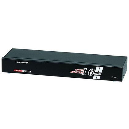 16 Way Active/Powered VGA / SVGA Splitter - 250MHz - Monoprice®