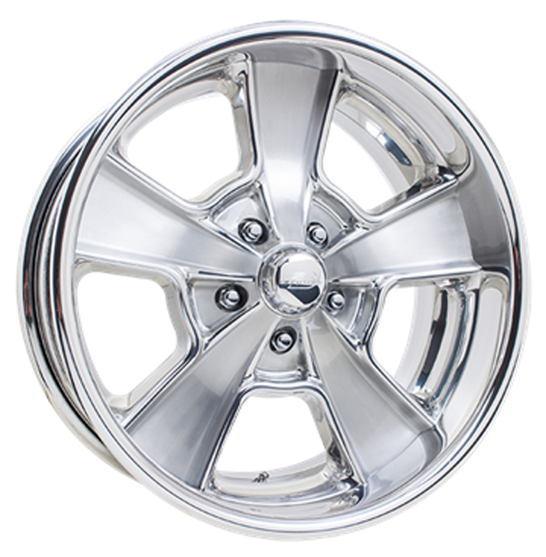 Billet Specialties VDS71C221Custom Knuckle Dish Brushed Clear Coat 22x10 Wheel