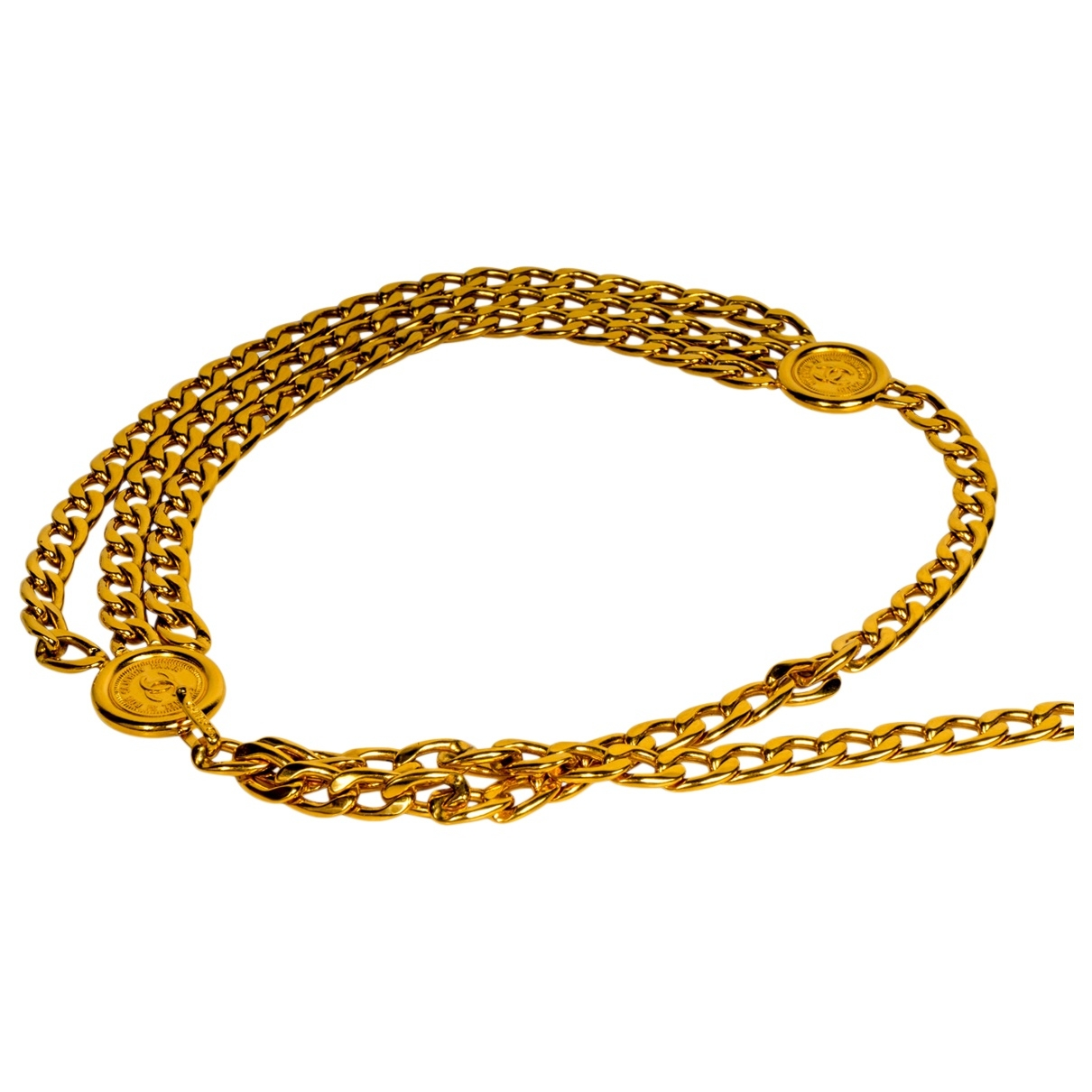 Chanel \N Gold Chain belt for Women 95 cm