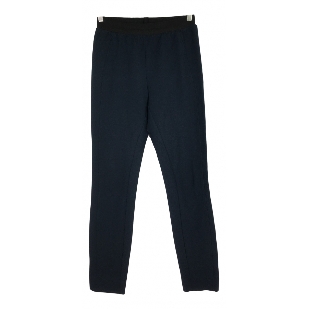 Schumacher \N Blue Trousers for Women 2 0-5