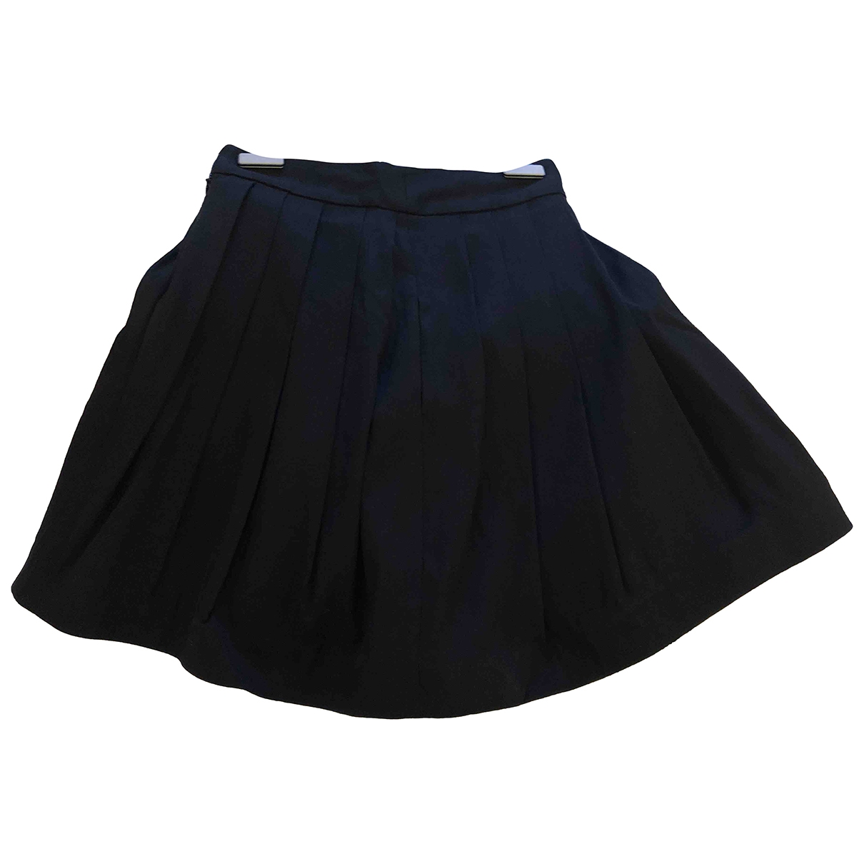 Halston Heritage \N Black Cotton skirt for Women 2 US
