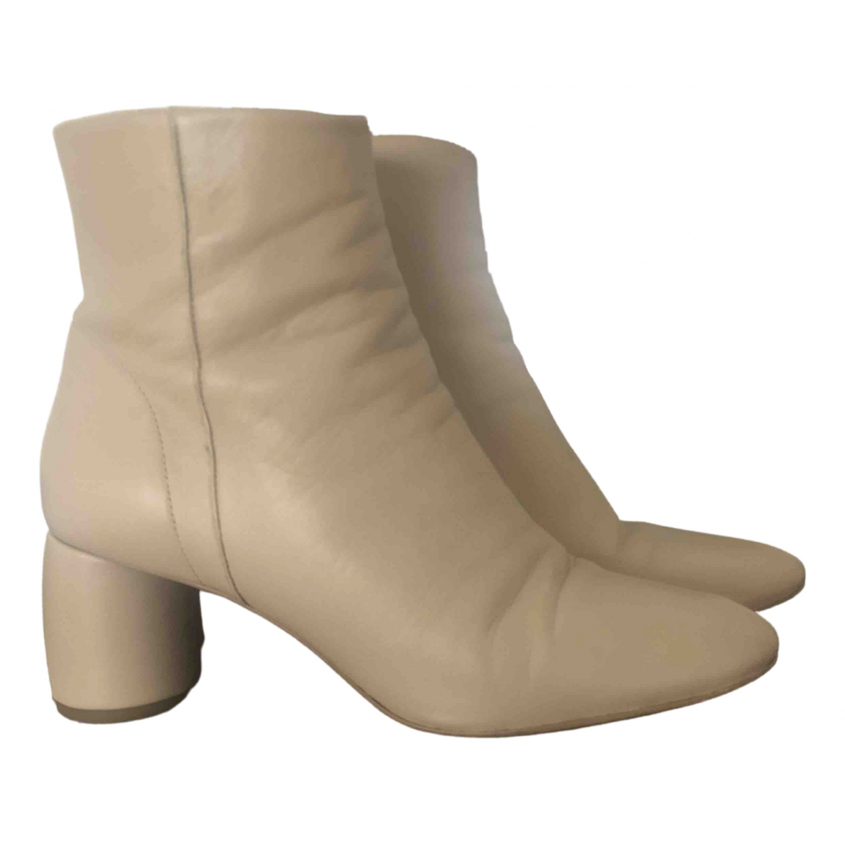 & Stories \N Beige Leather Boots for Women 39 EU