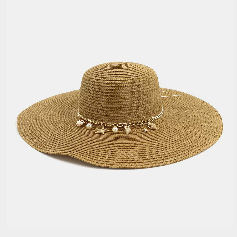 Women Seaside Outdoor Vacation Travel Sunscreen Beach Hat Sun Hat Straw Hats