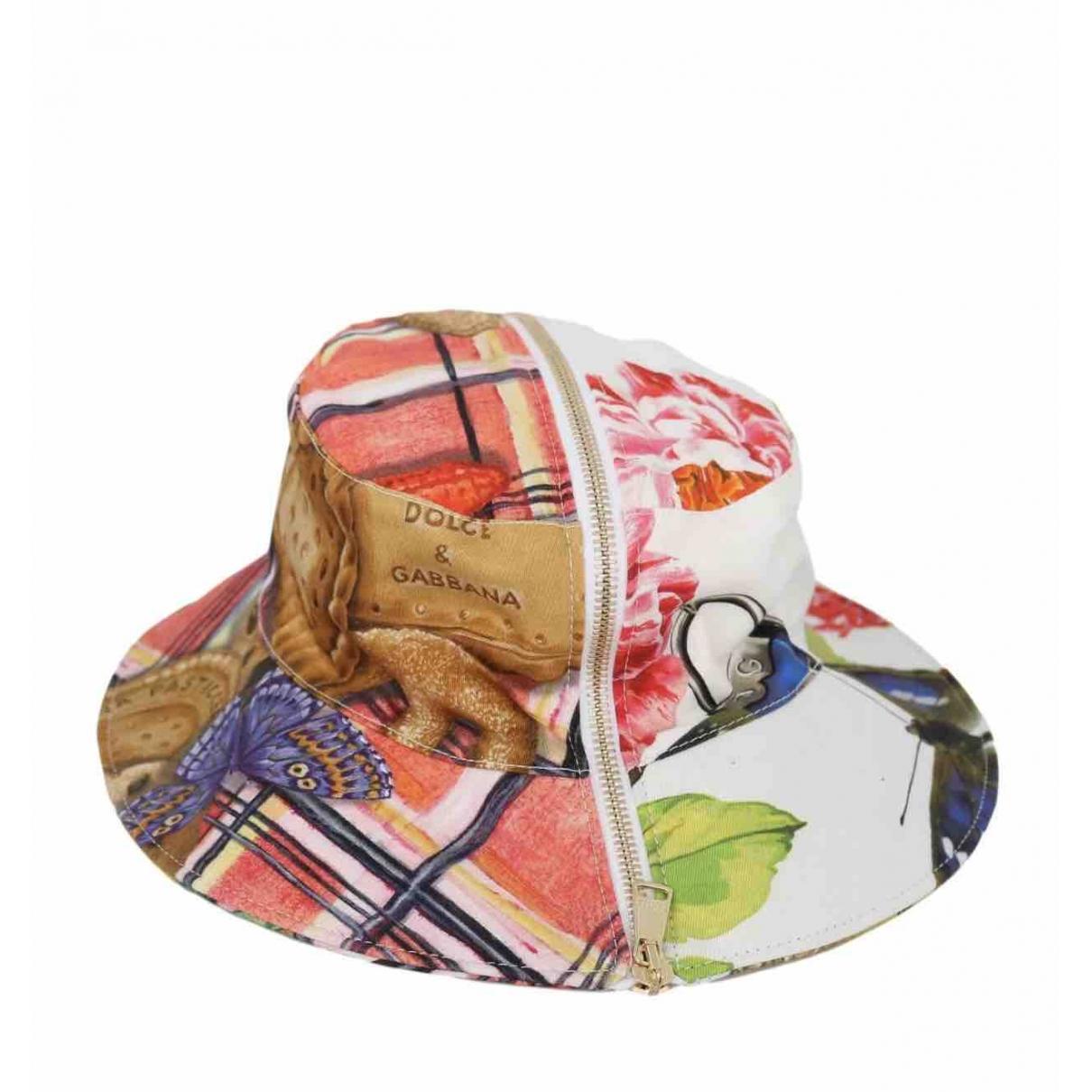 Dolce & Gabbana \N Multicolour Cotton hat for Women 56 cm