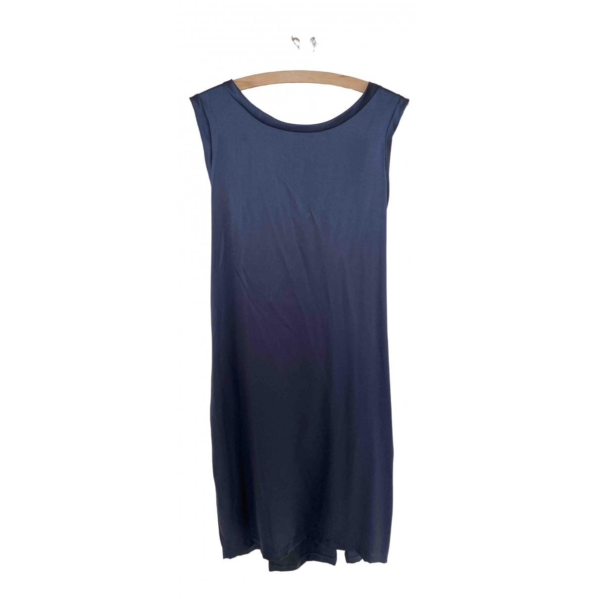 Yves Saint Laurent \N Blue Silk dress for Women 40 IT