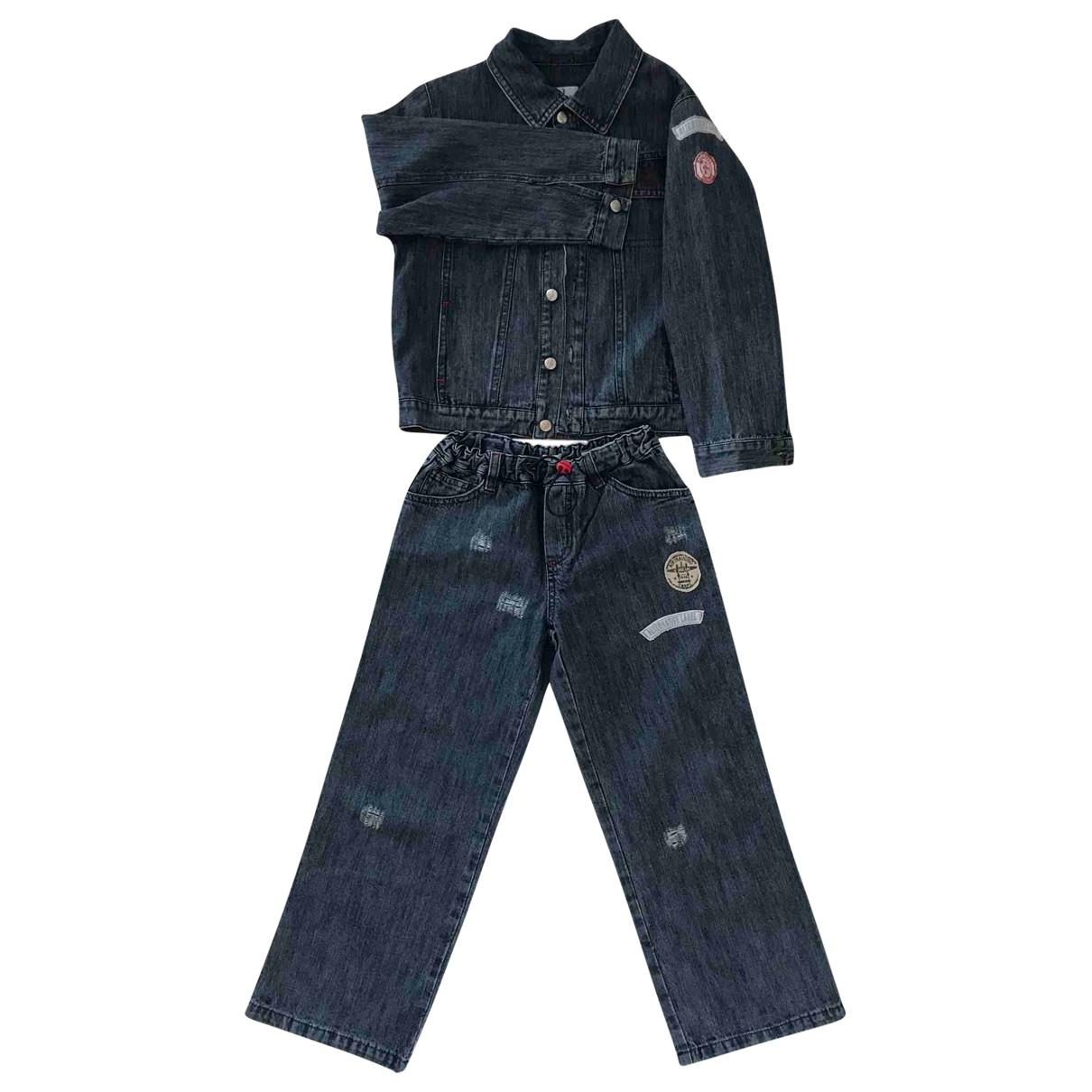 Trussardi \N Blue Denim - Jeans Outfits for Kids 6 years - up to 114cm FR