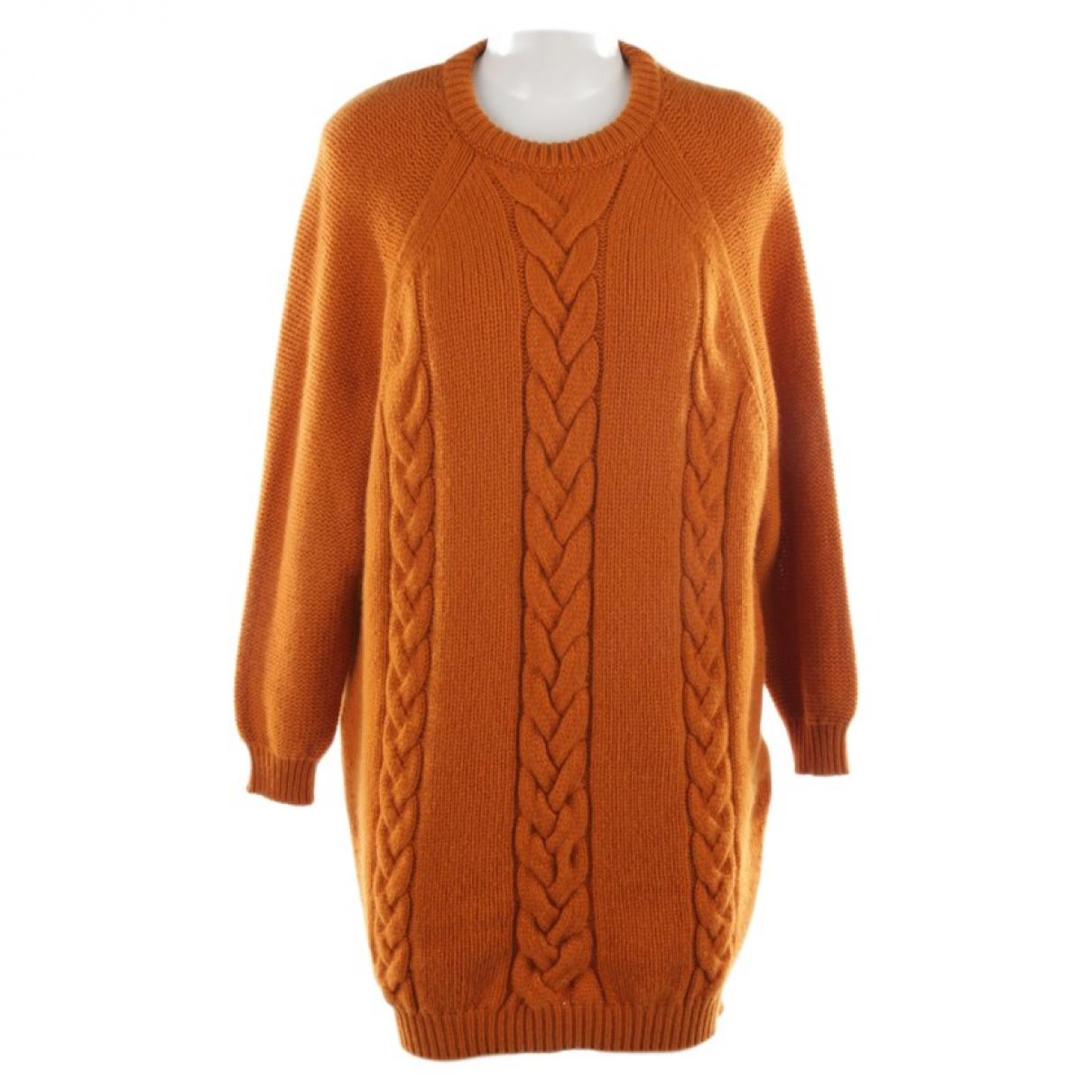 Autre Marque \N Orange Cashmere Knitwear for Women 36 FR