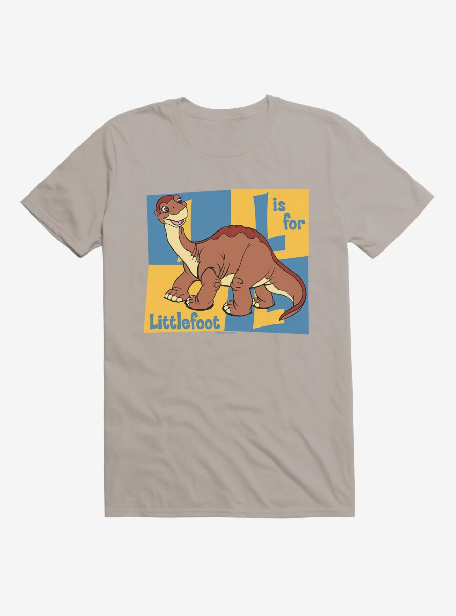 The Land Before Time L Is For Littlefoot T-Shirt