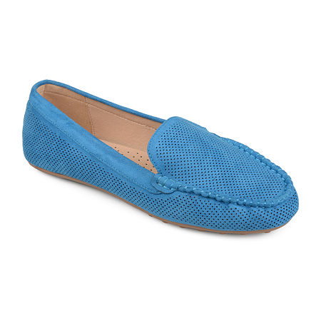 Journee Collection Womens Halsey Loafers, 10 Medium, Blue