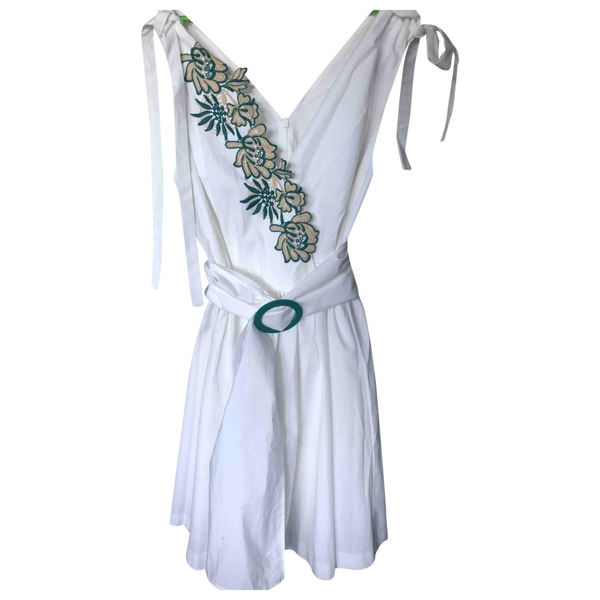 Sandro \N White Cotton dress for Women S International