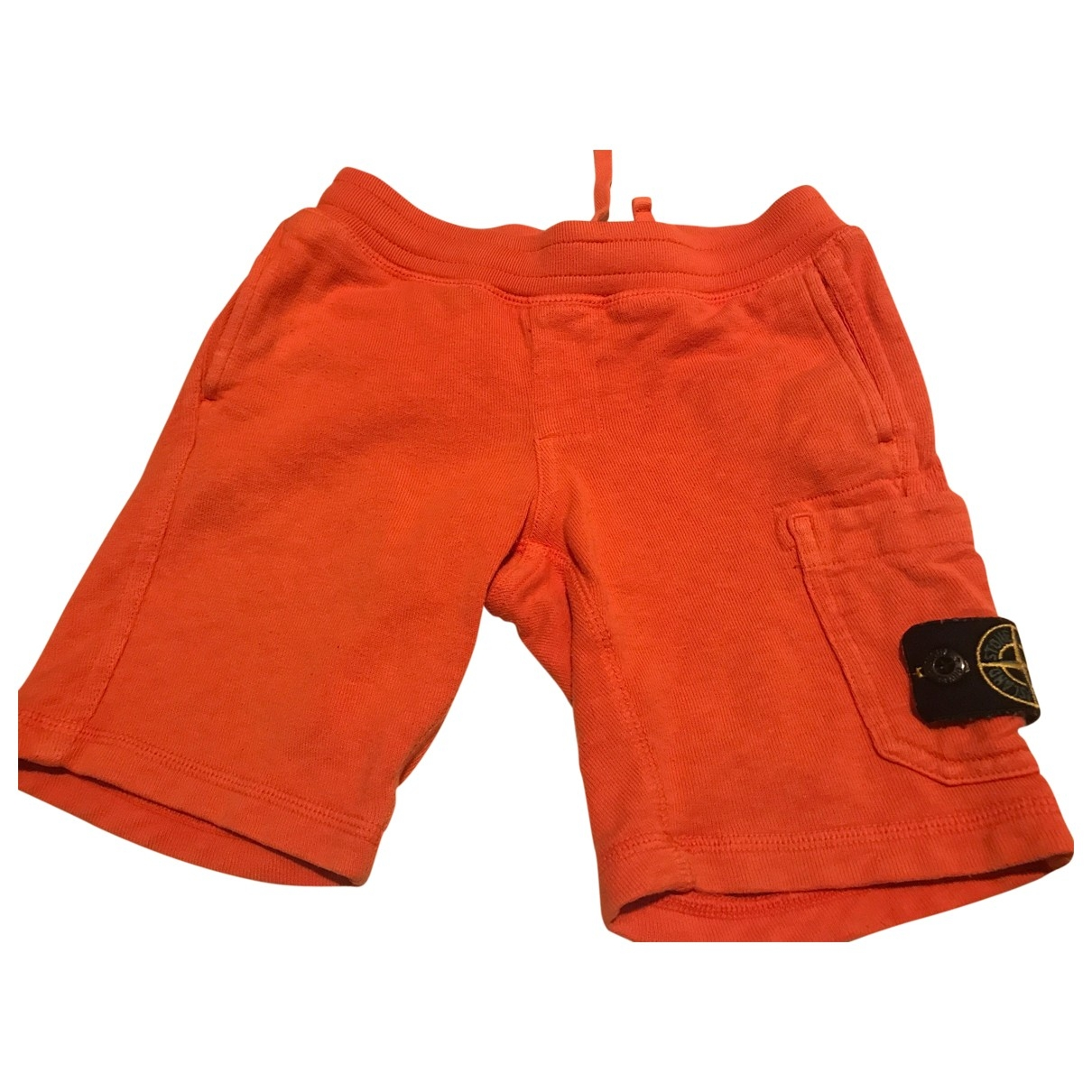 Stone Island \N Orange Cotton Shorts for Kids 4 years - up to 102cm FR