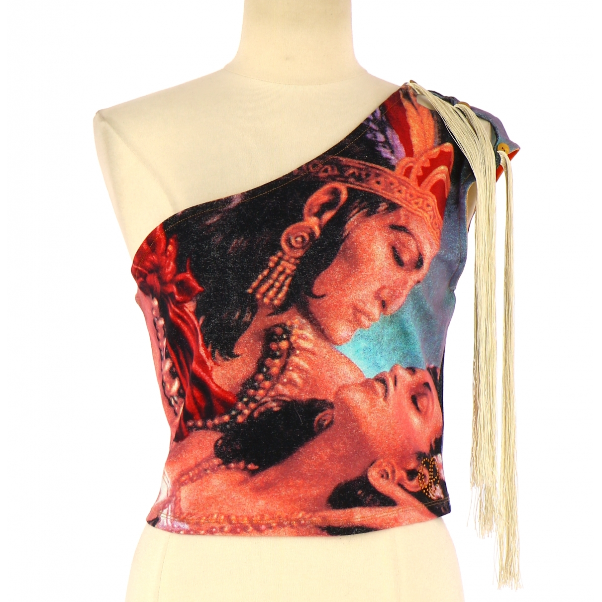 Non Signé / Unsigned \N Multicolour Cotton  top for Women 40 FR