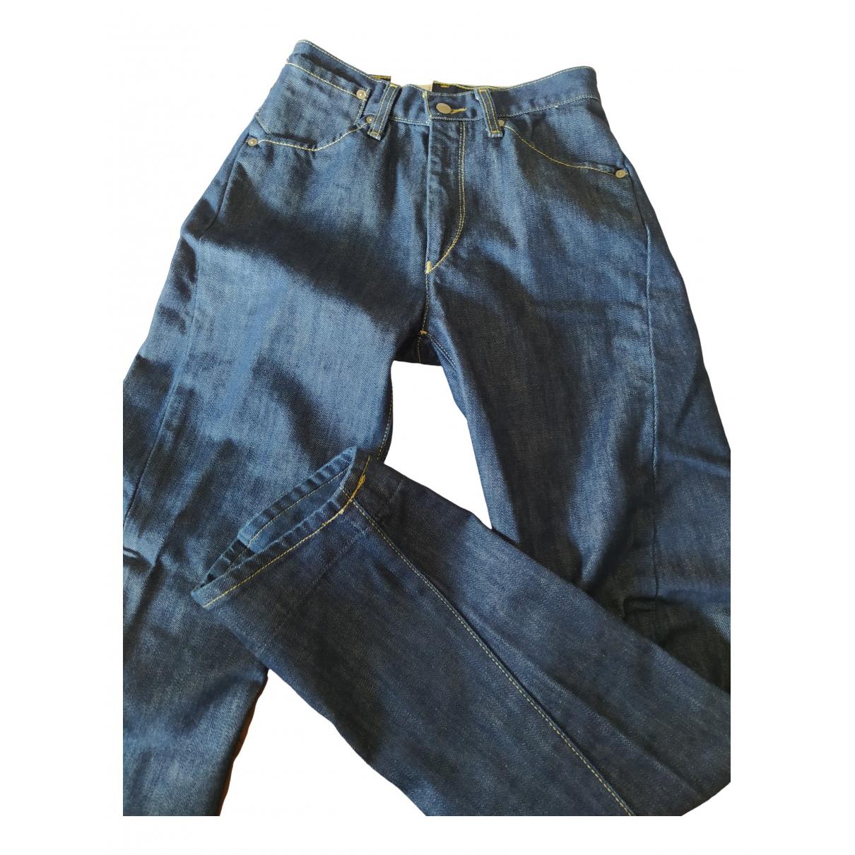 Levi's \N Blue Cotton Jeans for Women 26 US
