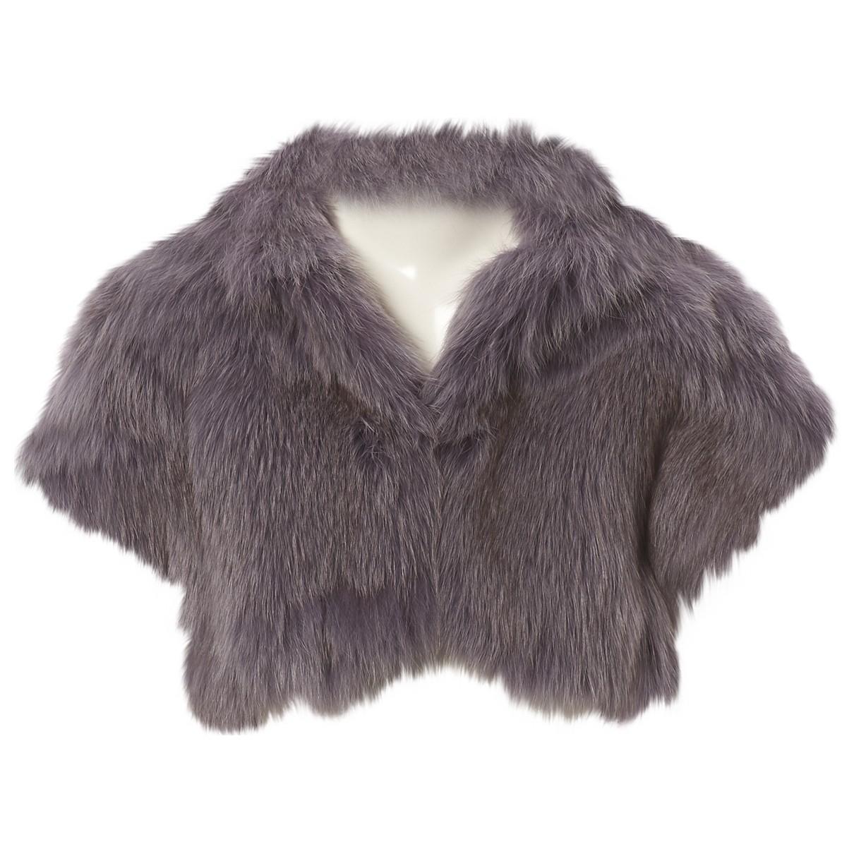 Gucci \N Purple Fox jacket for Women 38 IT