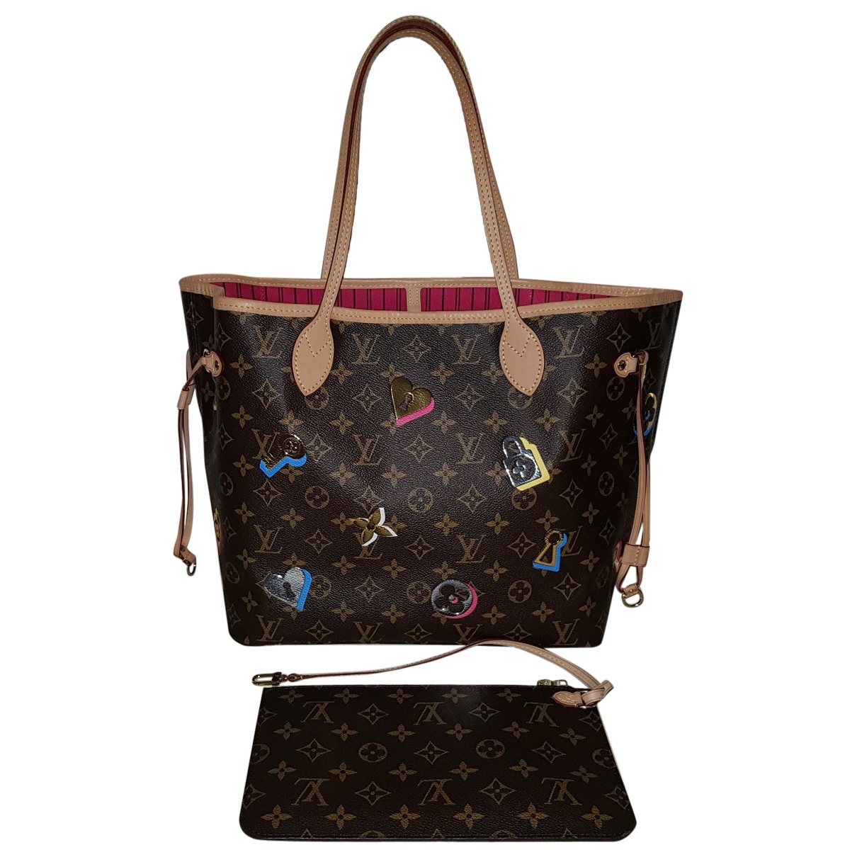 Louis Vuitton Neverfull Multicolour Cloth handbag for Women \N