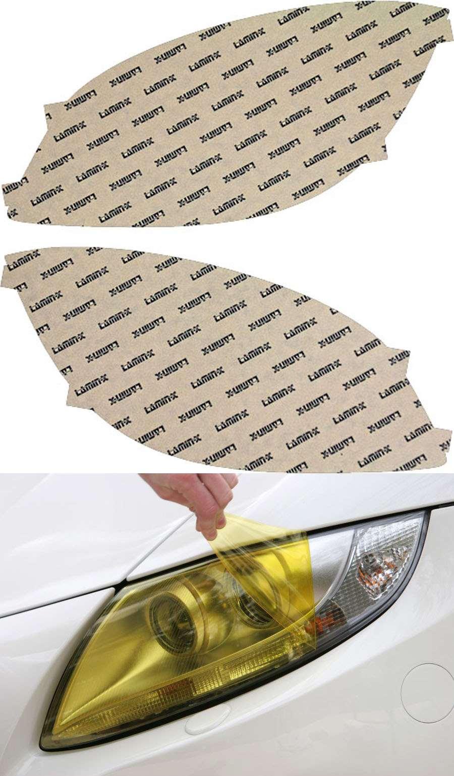 Chevrolet Cobalt 05-10 Yellow Headlight Covers Lamin-X CH016Y
