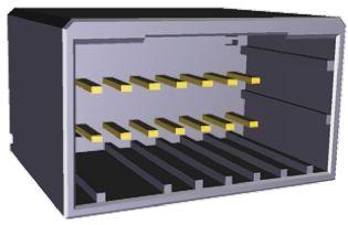 TE Connectivity , Dynamic 2000, 8 Way, 2 Row, Straight PCB Header