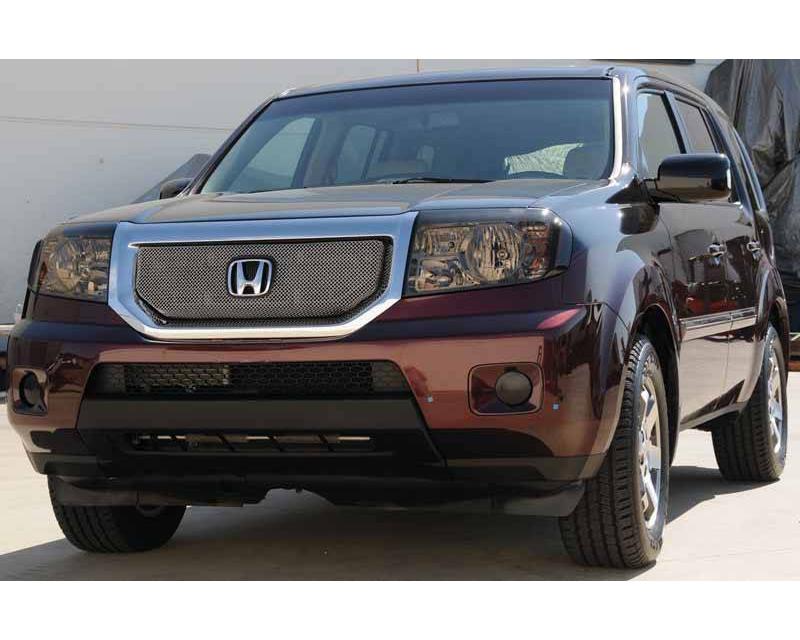 2009-2010 Honda Pilot Sport Grille, Chrome, 1 Pc, Overlay - PN #44705
