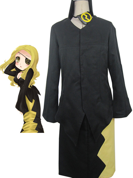 Milanoo Soul Eater Marie Mjolnir Uniform Cloth Cosplay Costume Halloween