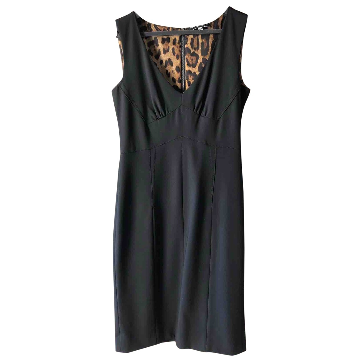 Dolce & Gabbana \N Black Wool dress for Women 44 IT
