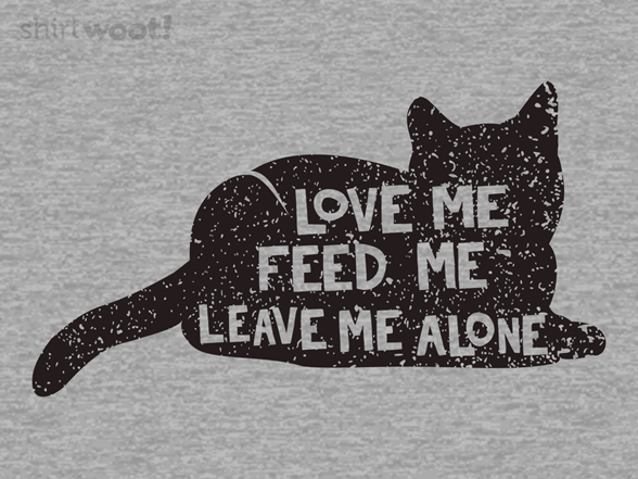 Love Me Cat And Dog T Shirt
