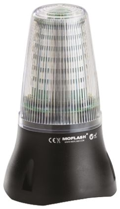Moflash XA125 Buzzer Beacon 90dB, None Xenon, 230 V ac