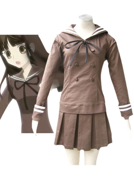 Milanoo Ouran High School Host Club Fujioka Haruhi Cosplay Costume Seifuku School Uniform Halloween