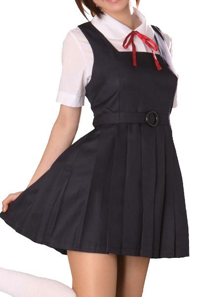 Milanoo School Uniform Cosplay Costume Halloween
