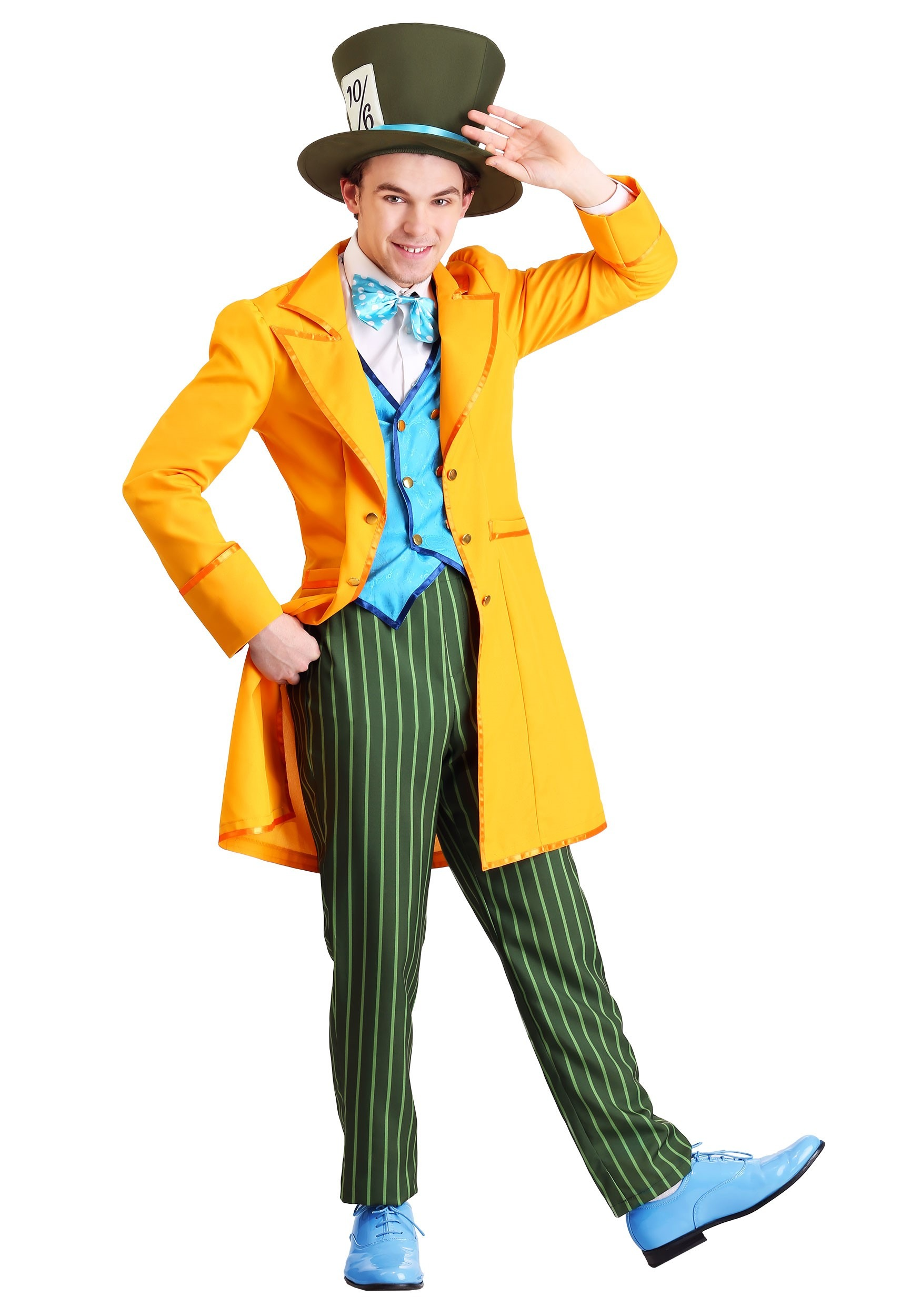 Classic Mad Hatter Costume for Adults
