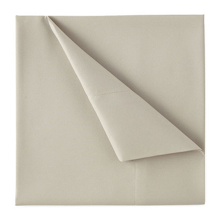 Home Expressions Microfiber Plus Ultra Soft Easy Care Wrinkle Resistant Sheet Set, One Size , Beige