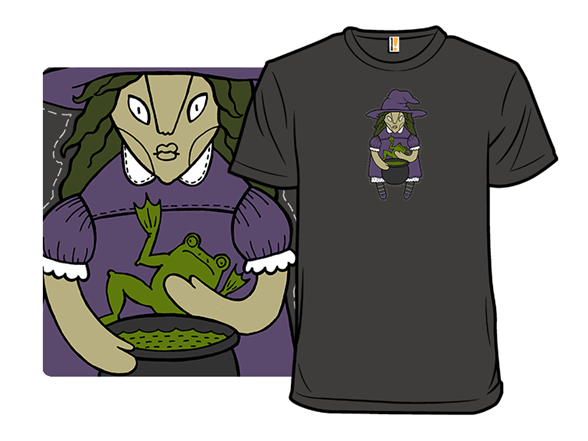 Halloween Witch T Shirt