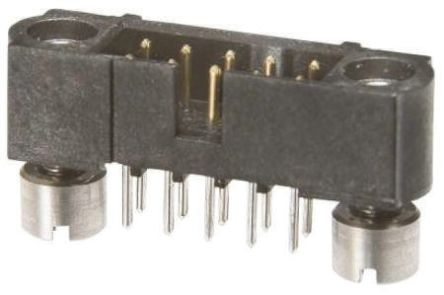 HARWIN , Datamate J-Tek, 34 Way, 2 Row, Straight PCB Header