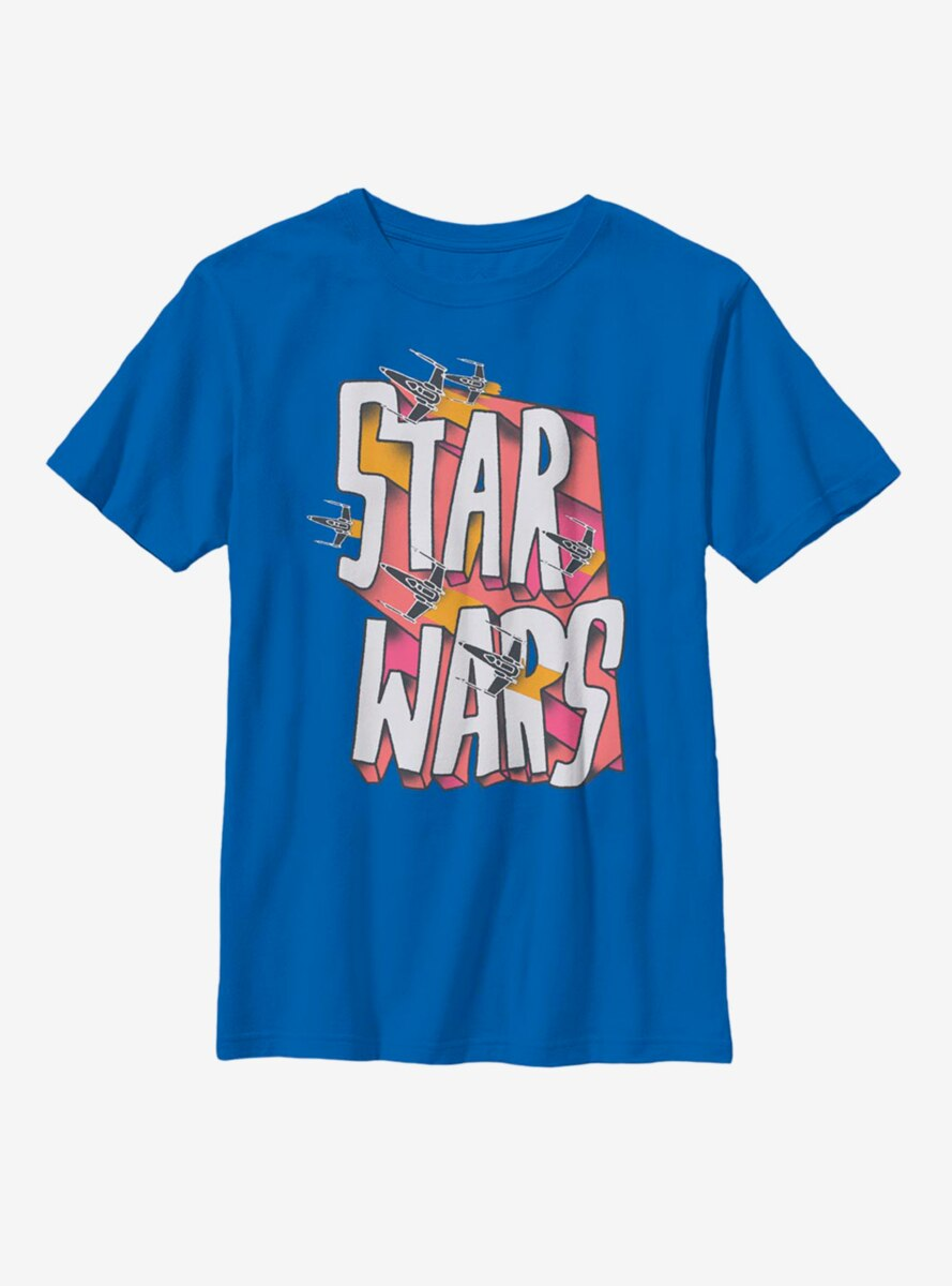 Star Wars Logo Doodle Youth T-Shirt