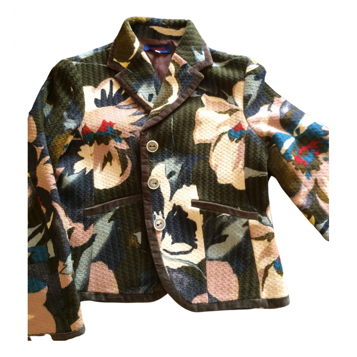 Kenzo \N Multicolour Cotton jacket for Women 40 FR