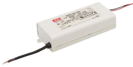 Mean Well Constant Current LED Driver 40W 45 → 80V